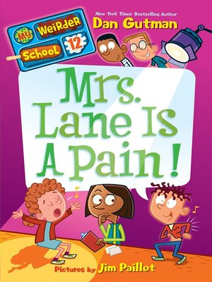 cover image of Mrs. Lane Is a Pain!