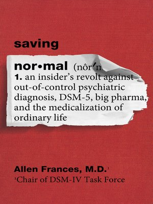 cover image of Saving Normal
