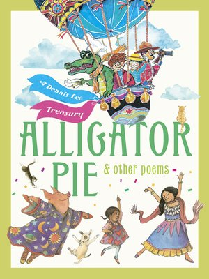 cover image of Alligator Pie and Other Poems