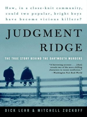 cover image of Judgment Ridge