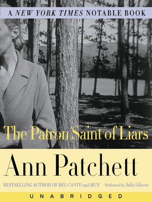 cover image of The Patron Saint of Liars