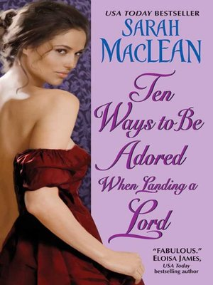 cover image of Ten Ways to Be Adored When Landing a Lord