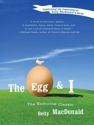 cover image of The Egg and I