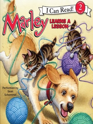 cover image of Marley Learns a Lesson