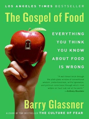 cover image of The Gospel of Food