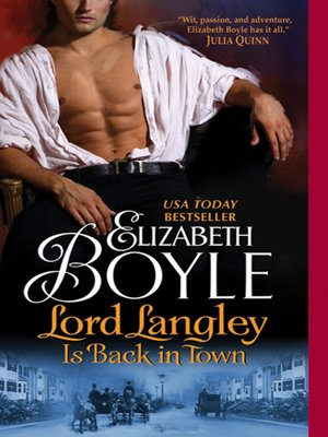 cover image of Lord Langley Is Back in Town