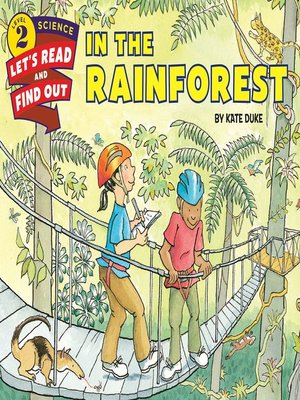 cover image of In the Rainforest