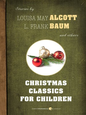 cover image of Christmas Classics For Children
