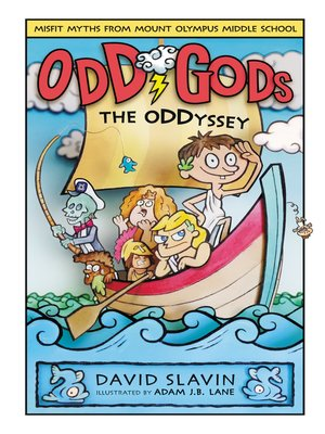cover image of The Oddyssey