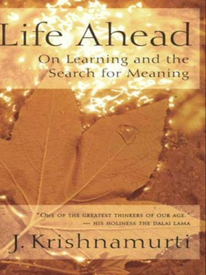 cover image of Life Ahead