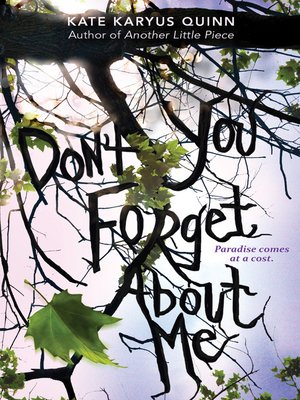 cover image of (Don't You) Forget About Me