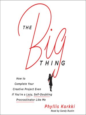 cover image of The Big Thing