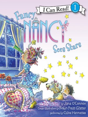 cover image of Fancy Nancy Sees Stars