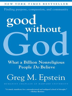 cover image of Good Without God