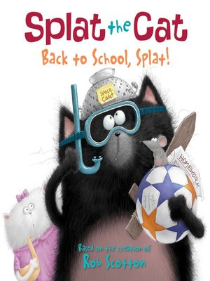 cover image of Back to School, Splat!