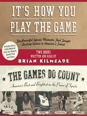 cover image of It's How You Play the Game and The Games Do Count