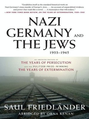 cover image of Nazi Germany and the Jews, 1933-1945