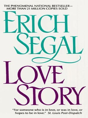 Erich Segal Epub