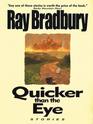 cover image of Quicker Than the Eye