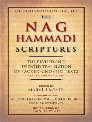 cover image of The Nag Hammadi Scriptures
