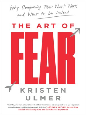 cover image of The Art of Fear