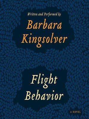 cover image of Flight Behavior