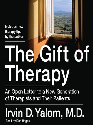 cover image of The Gift of Therapy