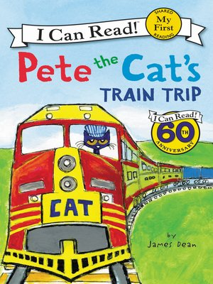 cover image of Pete the Cat's Train Trip