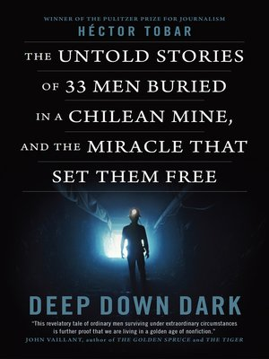 cover image of Deep Down Dark