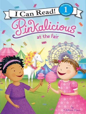 cover image of Pinkalicious at the Fair
