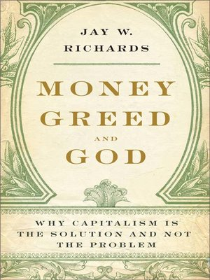 cover image of Money, Greed, and God
