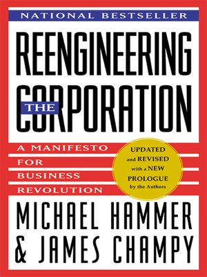 cover image of Reengineering the Corporation