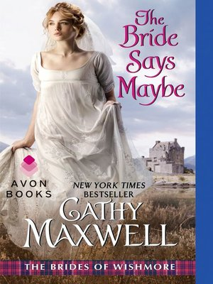 cover image of The Bride Says Maybe