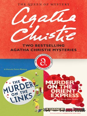 cover image of The Murder on the Links & Murder on the Orient Express Bundle