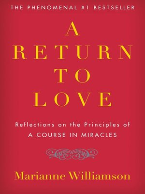 cover image of A Return to Love