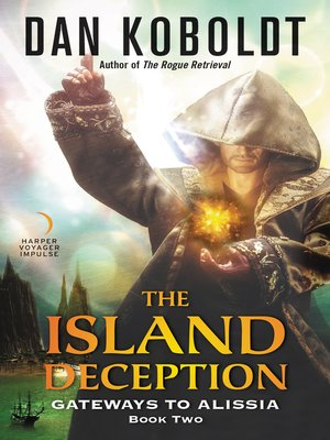 cover image of The Island Deception