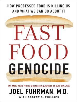 cover image of Fast Food Genocide
