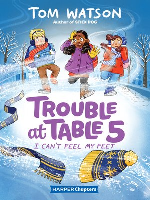 cover image of Trouble at Table 5 #4