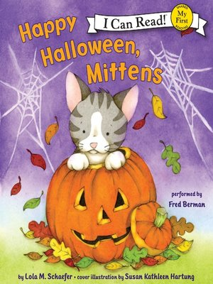 cover image of Happy Halloween, Mittens
