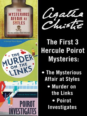 cover image of Poirot Bundle