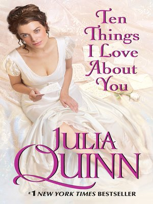 cover image of Ten Things I Love About You