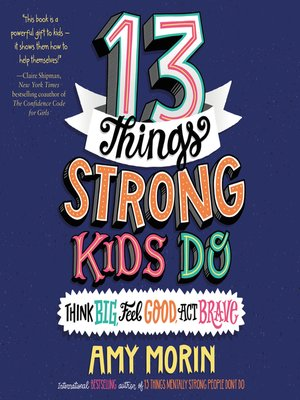 cover image of 13 Things Strong Kids Do