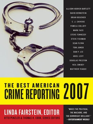 cover image of The Best American Crime Reporting 2007