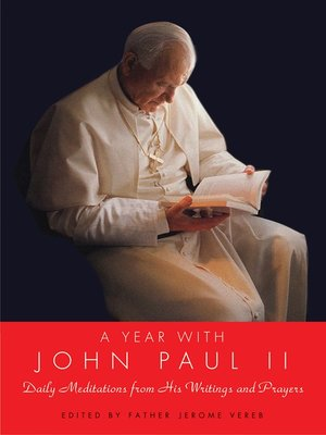 cover image of A Year with John Paul II