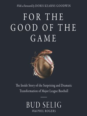 cover image of For the Good of the Game