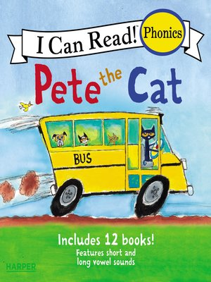 cover image of Pete the Cat 12-Book Phonics Fun!