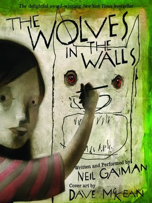 cover image of The Wolves in the Walls