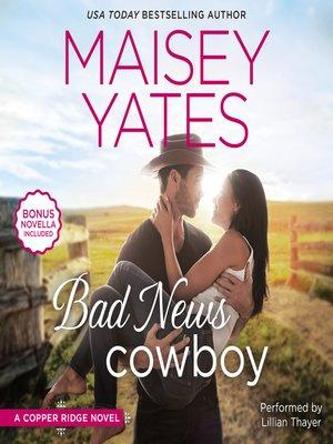 cover image of Bad News Cowboy