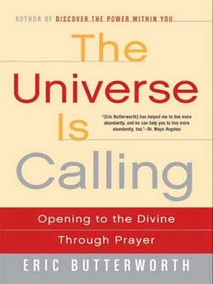 cover image of The Universe Is Calling