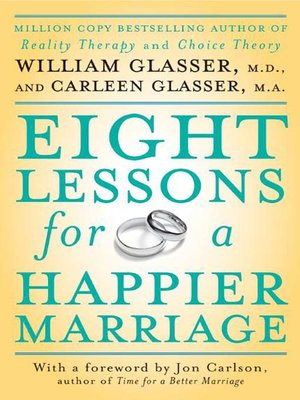 cover image of Eight Lessons for a Happier Marriage
